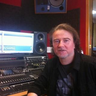 Günther Weber im Studio