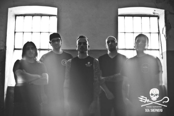 "Gruppenfoto der Band ""All Your Sorrows"""