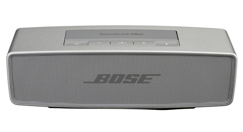 Eine graue Bose Soundlink 2 Box.