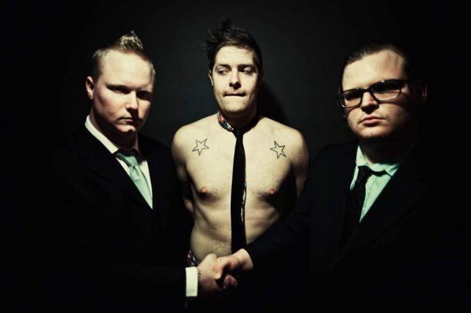 Die 3 Mitglieder der Band Seek & Destroy